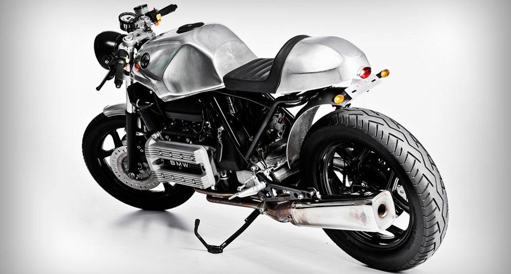 BMW K100 'K-Fé' café racer: A recipient of raw beauty