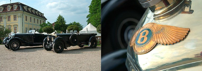 Automobiler Glanz im Schlossgarten