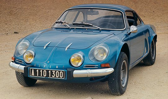 sleeping beauty n 6 renault alpine a110 classic driver. Black Bedroom Furniture Sets. Home Design Ideas