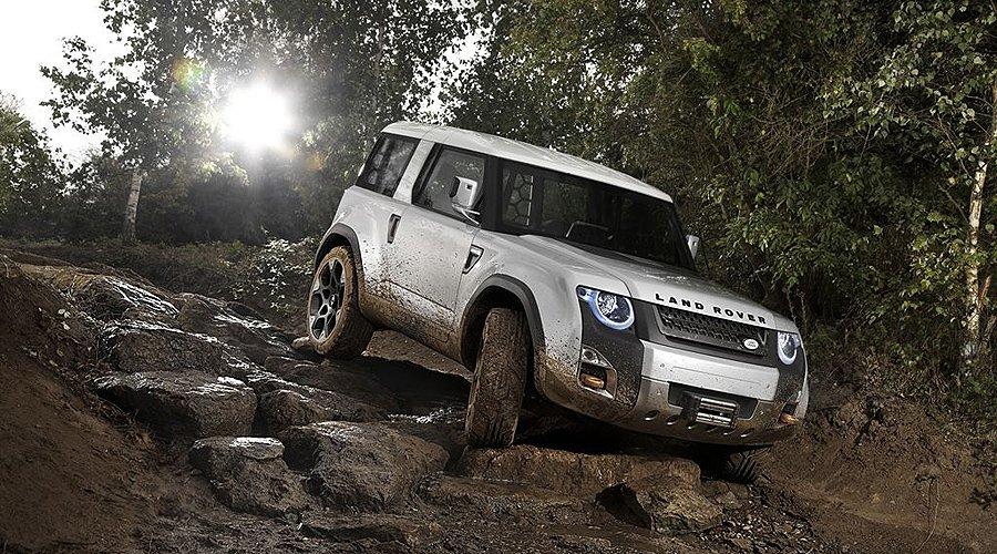 Land Rover Studie DC100: Der Defender der Zukunft