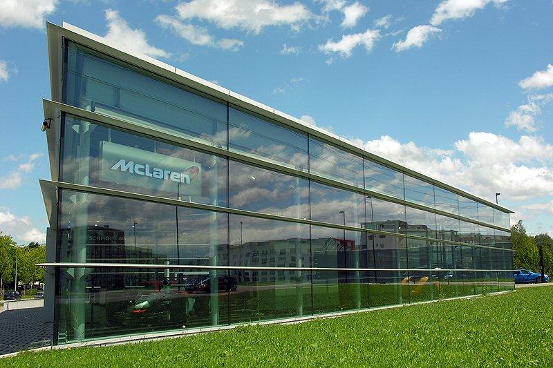 McLaren Zürich eröffnet Showroom am Flughafen