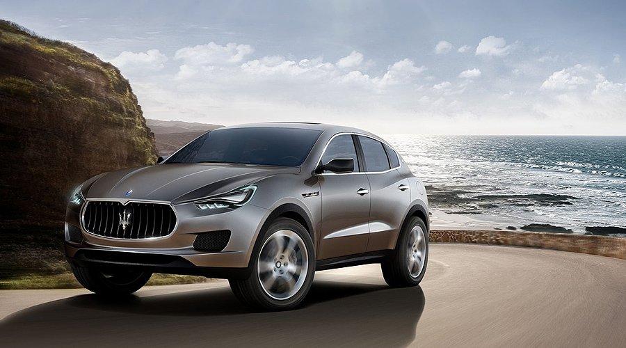 Maserati Kubang: High-performance SUV at Frankfurt