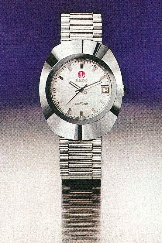 Icons of watchmaking history no.16: Rado DiaStar