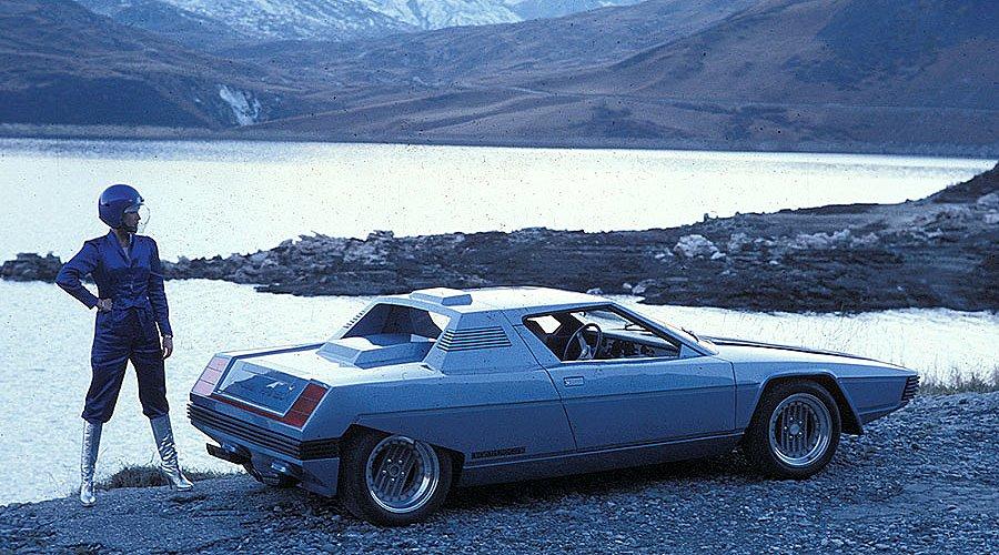 Classic Concepts: 1976 Ferrari Rainbow