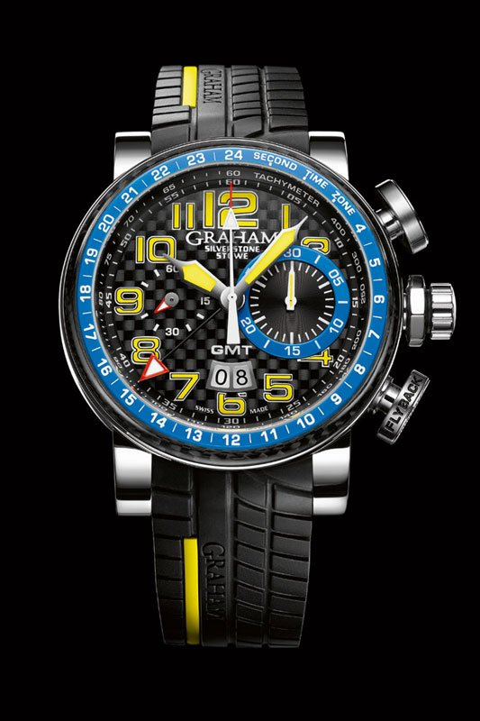 Graham 'Silverstone Stowe GMT Blue & Yellow'