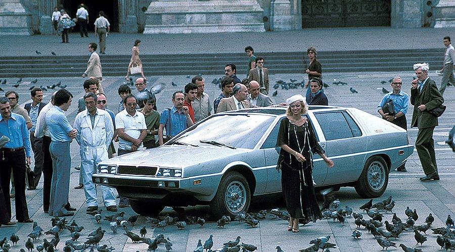 Classic Concepts: 1976 Maserati Medici II