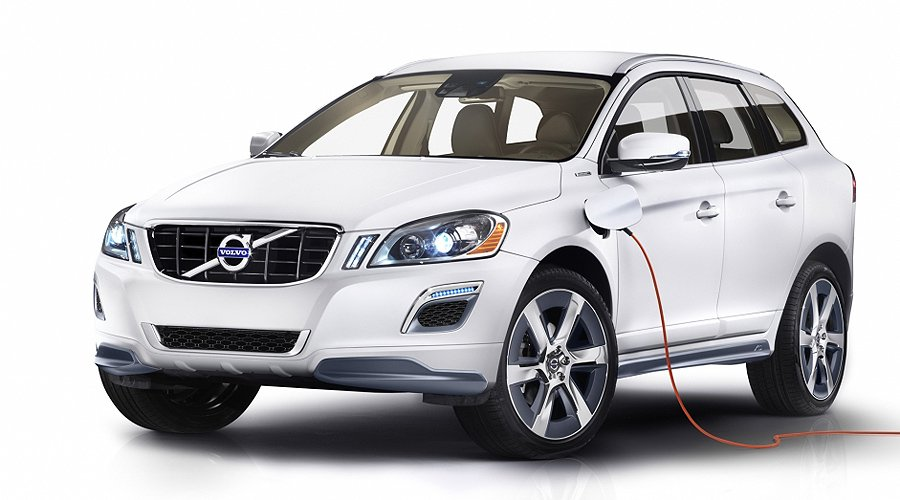 Volvo XC60 Plug-in-Hybrid Concept: Premiere in Detroit
