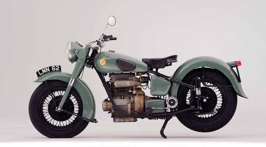 Bonhams at Goodwood: the George Daniels motorcycles