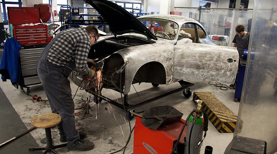 Abstammung verpflichtet: Porsche Classic Werkstatt
