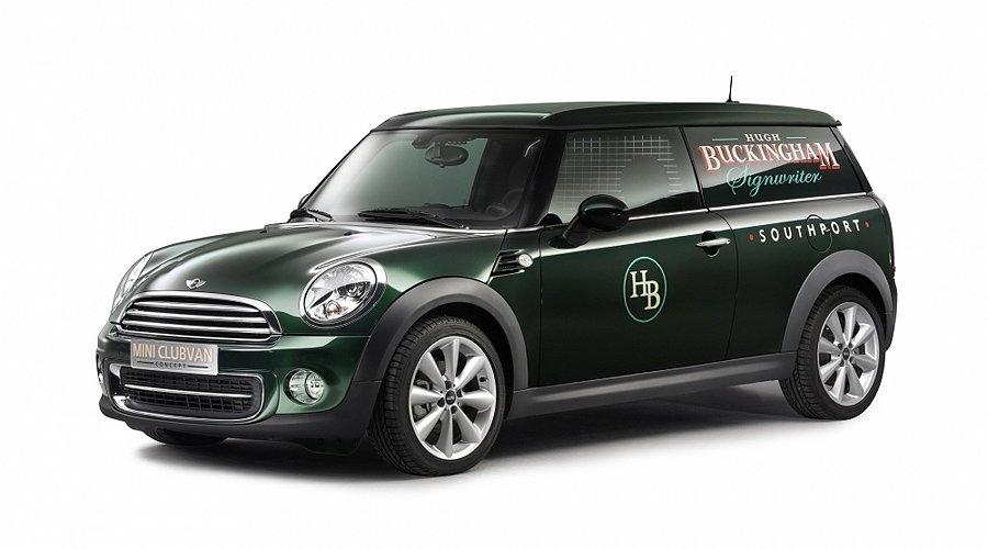 Mini Clubvan Concept: Das Lifestyle-Nutzfahrzeug