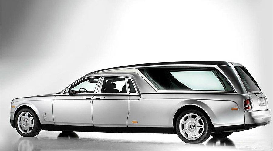 Rolls-Royce Phantom Hearse: Meeting your maker in style