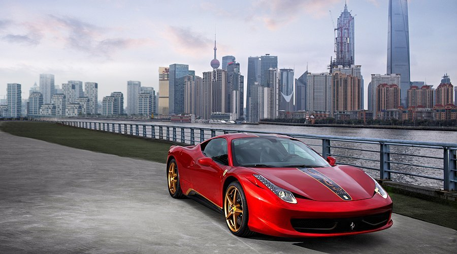 Ferrari 458 Italia China-Edition: Roter Drache