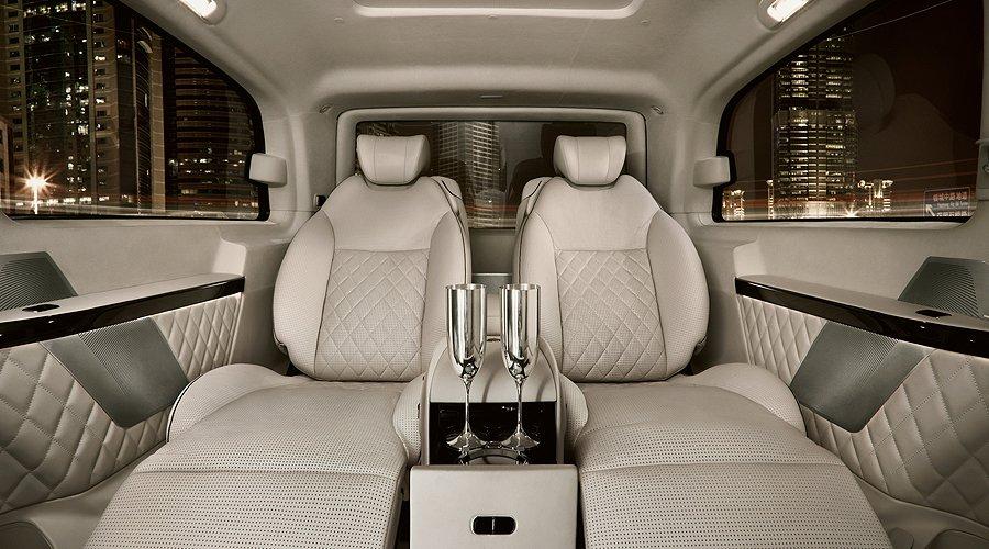 Mercedes-Benz Viano Vision Diamond: Der Maybach unter den Vans