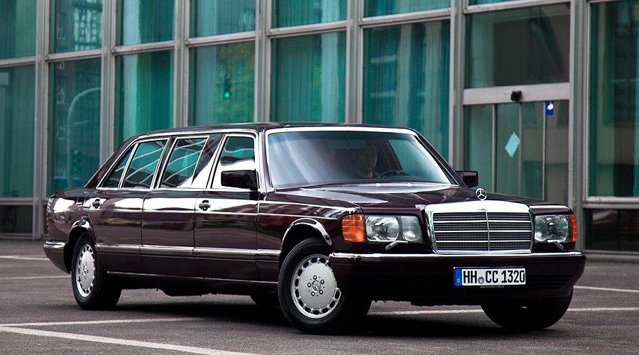 Mercedes-Benz 560 SEL Pullman: Länge läuft