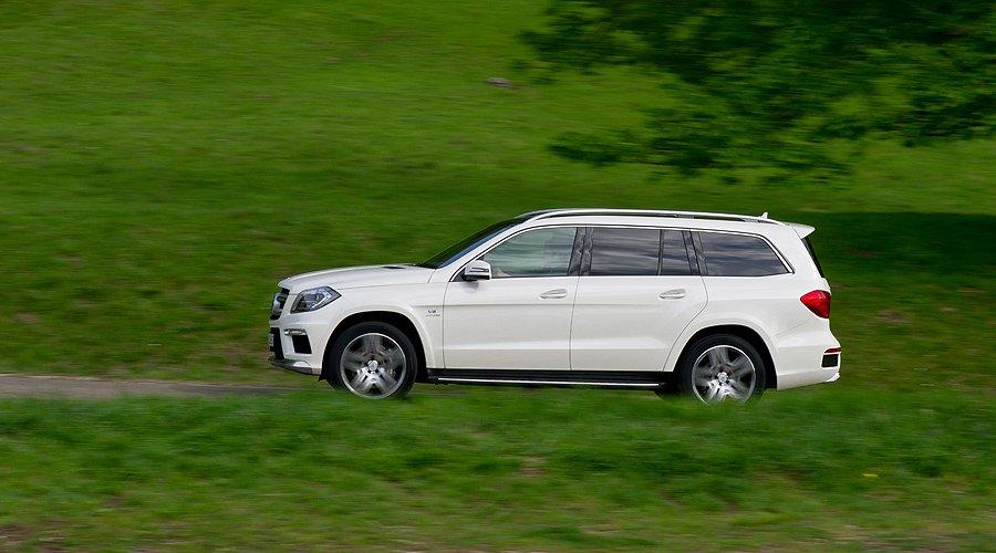 Mercedes-Benz GL 63 AMG: Extra-Power in der Schwergewichtsklasse