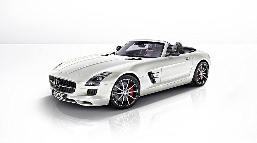 New Mercedes-Benz SLS AMG GT