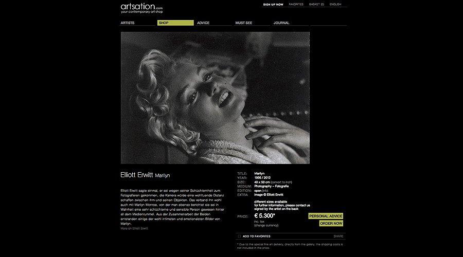 Artsation.com: Im Netz der Kunst
