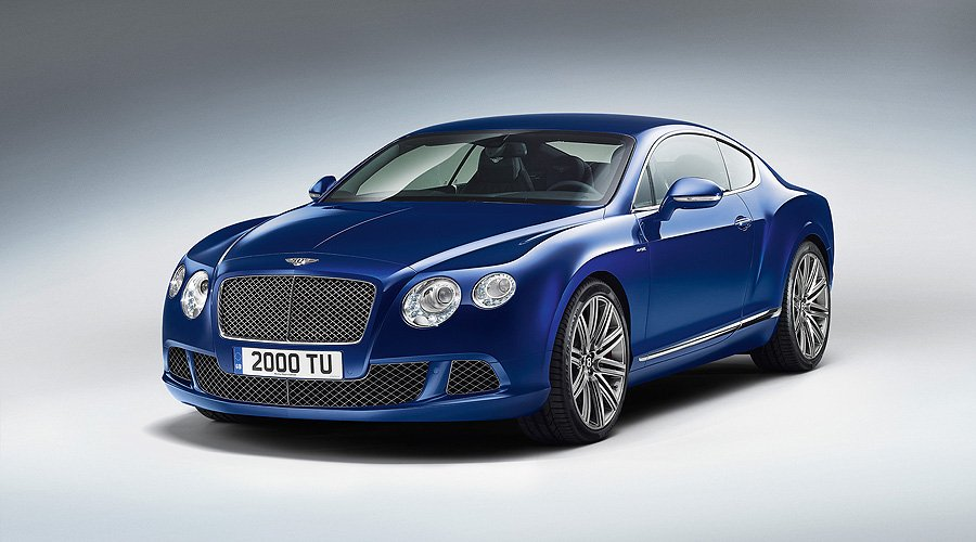 The 2012 Bentley Continental GT Speed