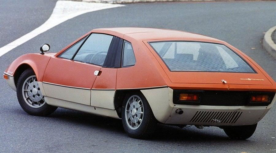Classic Concepts: 1970 Porsche 914/6 Murène by Heuliez