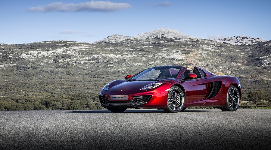 McLaren 12C Spider: Revealed in full