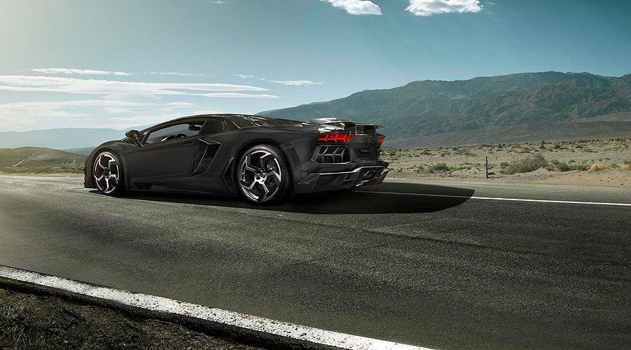 Lamborghini Aventador 'Carbonado' by Mansory: A carbonated explosion