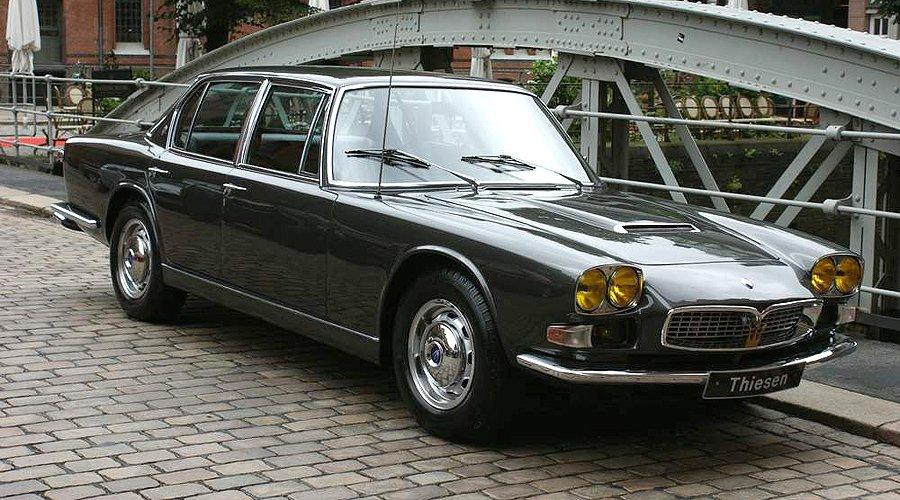 Editor's Choice: 1967 Maserati Quattroporte