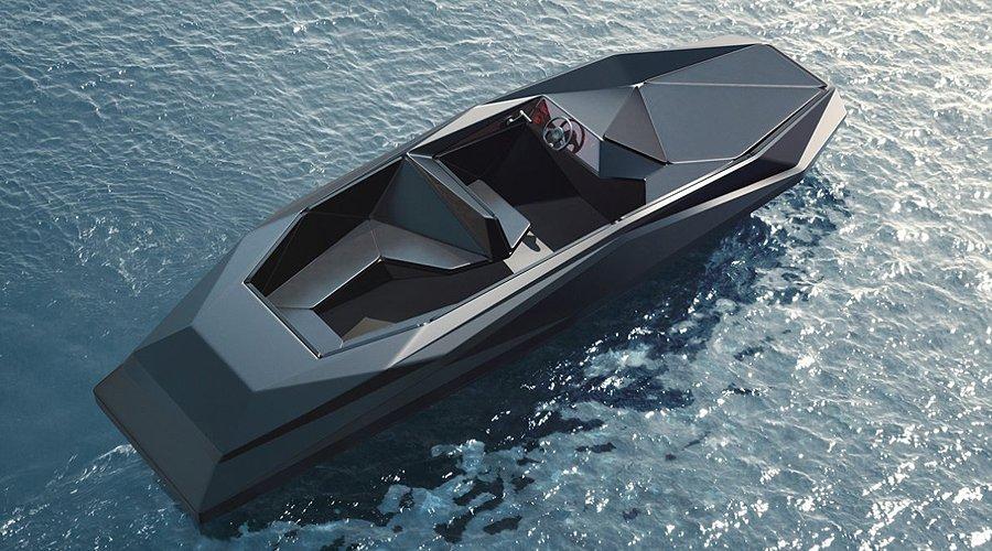 Zaha Hadid Z-Boat: The Bat-Boat