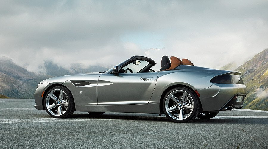 Topless on Pebble Beach: Monterey greets the BMW Zagato Roadster
