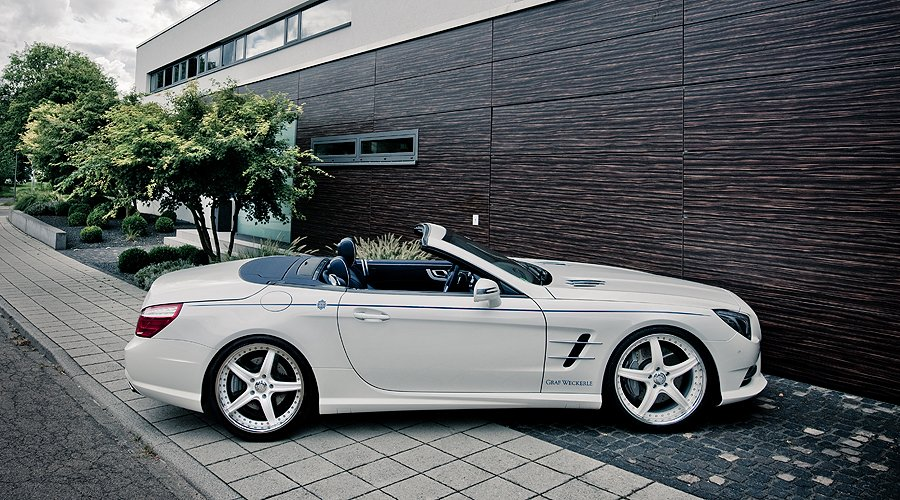 Maritimer Mercedes-Benz 500 SL: Der Deichgraf