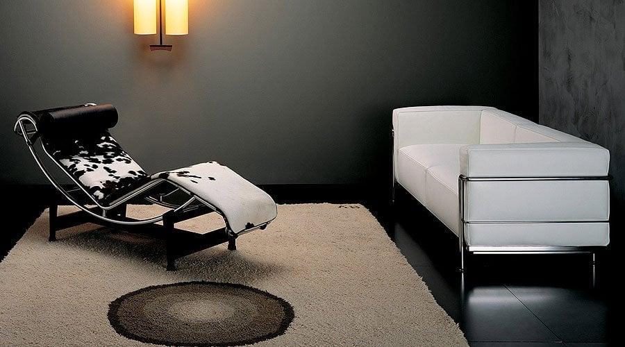 Le Corbusier LC4 Chaise Longue Maschinell Ruhen