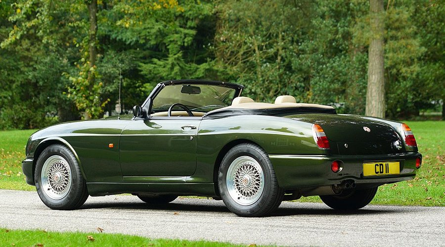 MG RV8: The Diva's final curtain call