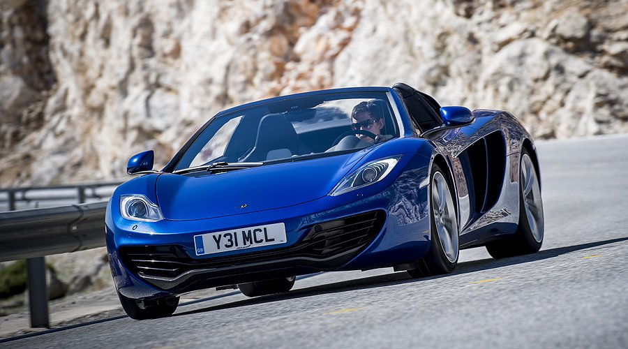 McLaren 12C Spider: Öffnung im Schnellverfahren