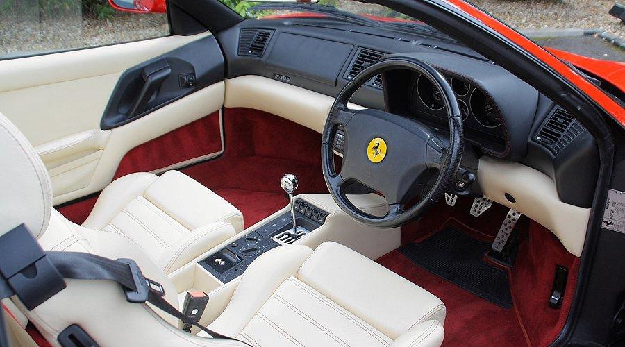 Ferrari 355 GTS: Endlich erwachsen