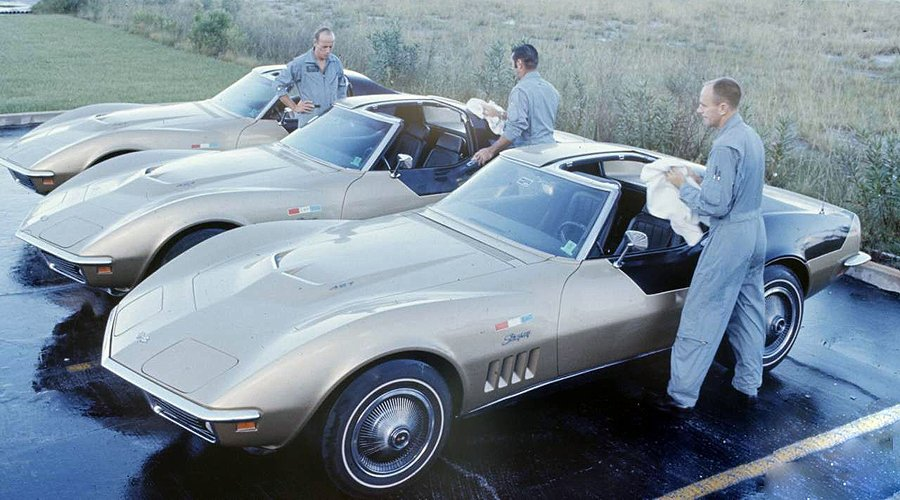 Chevrolet Corvette Certified For Space Travel Classic