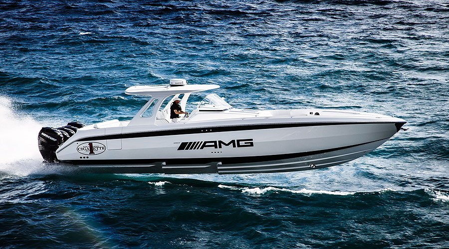 Cigarette Huntress 42 inpired by AMG: Surf and Turf