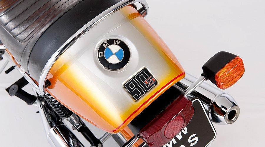 BMW R90S: Eine Maschine dreht auf