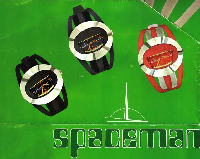Superwatches of the Seventies: Colourful, futuristic and unusual