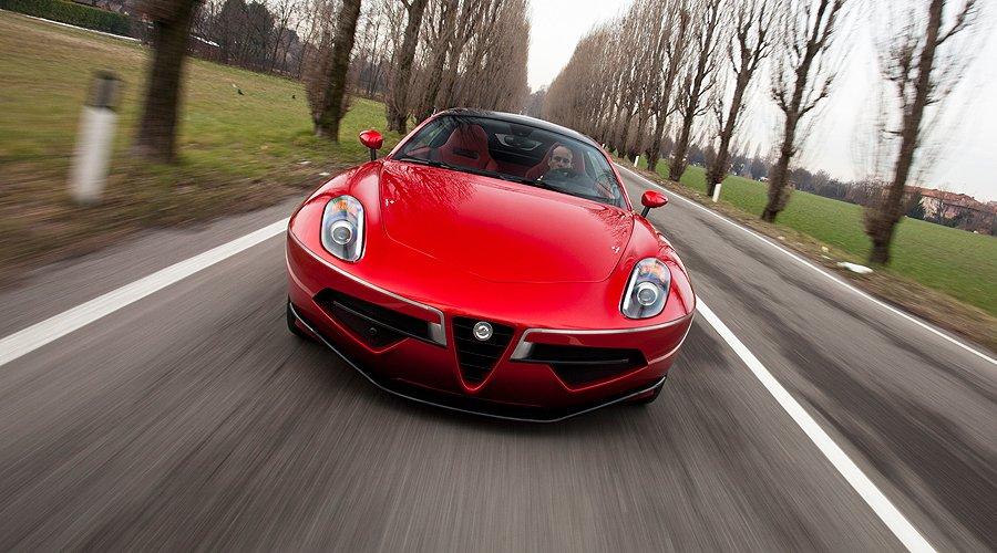 Driving the new Carrozzeria Touring Disco Volante