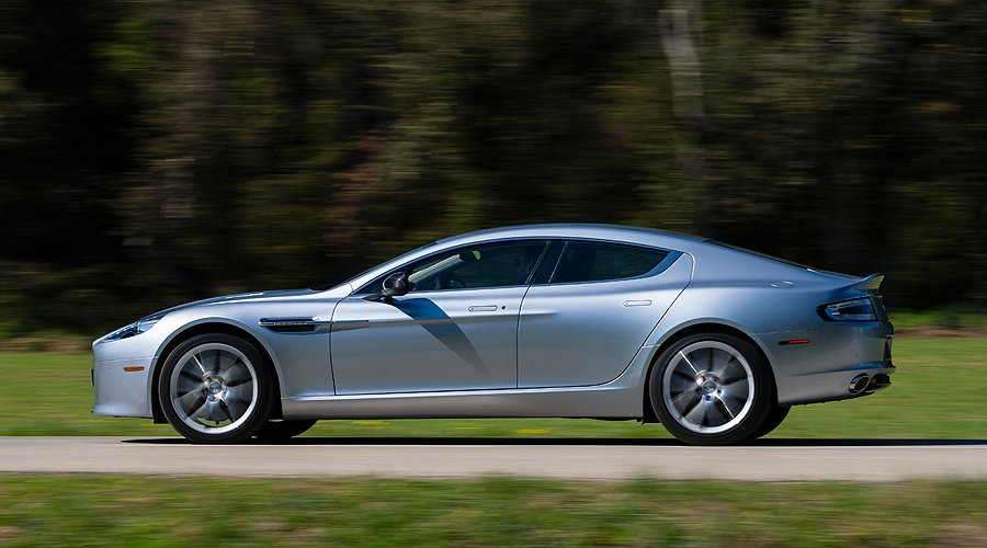 Swift, Sophisticated and Stylish: Driving the new Aston Martin Rapide S