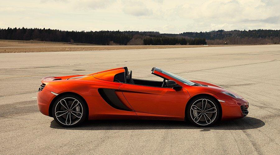 McLaren 12C Spider: Zwei Turbos für ein Halleluja