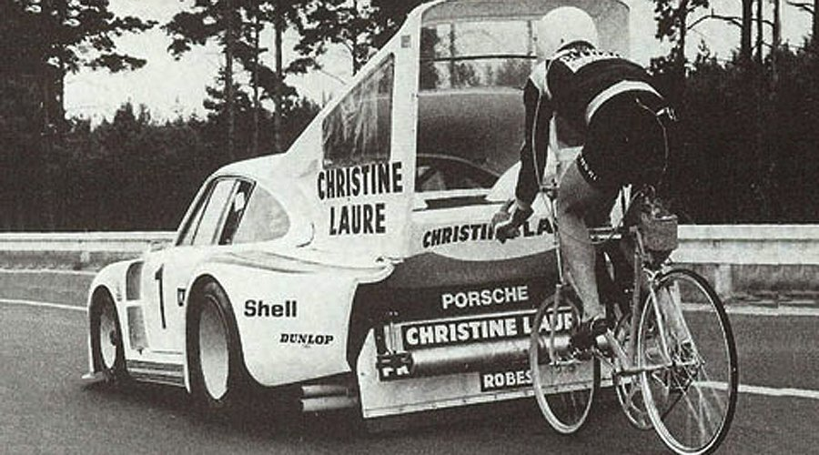 The Martini Porsche 935 and the World Speed Record for Cyclists