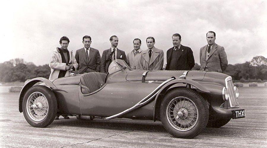 Aston Martin Spa Replica: Spritztour im ersten Nachkriegs-Aston