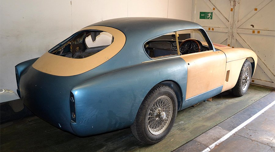 Barn-finds return home: Bonhams' Aston Martin sale at Newport Pagnell