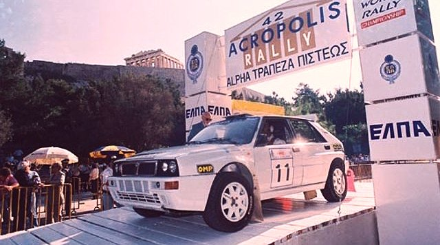 Rally of Gods: 5 cars to conquer the Acropolis