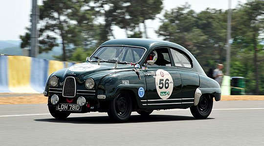 Saab at the 2010 Le Mans Classic | Classic Driver Magazine