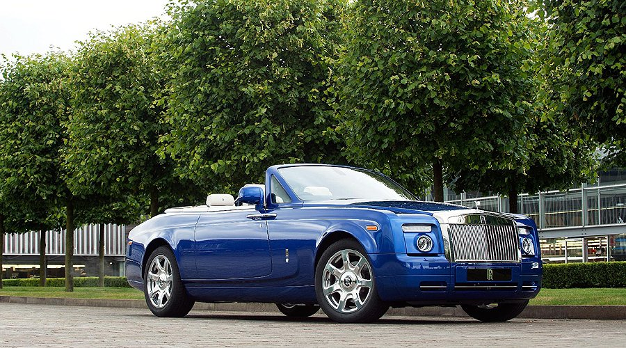 Bespoke Rolls-Royce Drophead Coupé at Masterpiece London 2011