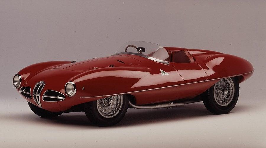 Classic Concepts: 1952 Alfa Romeo C52 'Disco Volante'