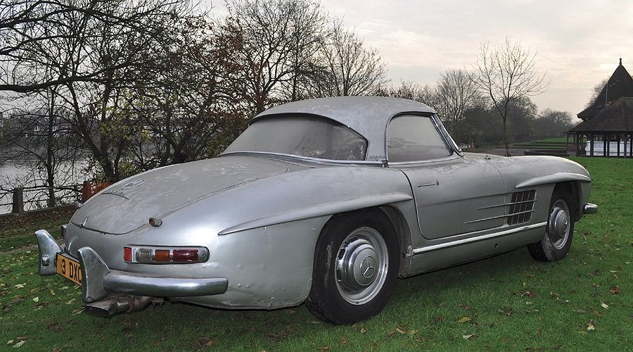 Amazing 'barn-find' 300SL Roadster to feature in Coys' December sale