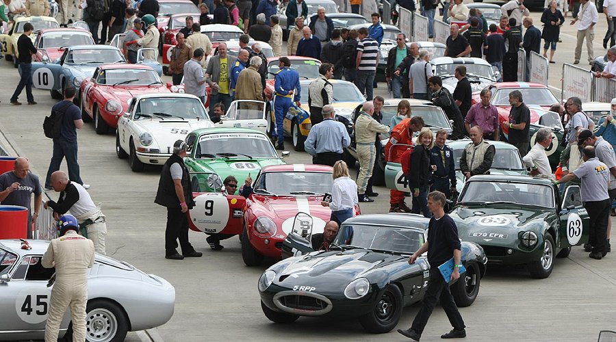 Silverstone Classic 2012: Rocking and Racing