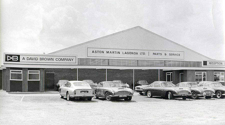 Focus on Heritage: 'Aston Martin Works'
